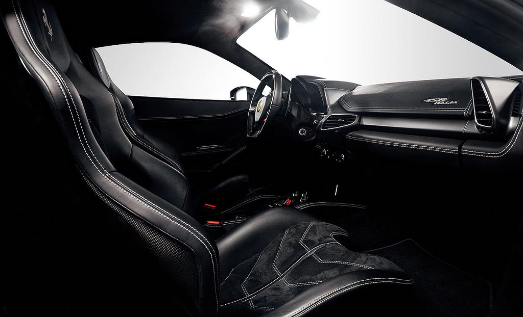 ferrari 458 white interior. dmc milano carbon fiber and leather interior for the ferrari 458 italia white