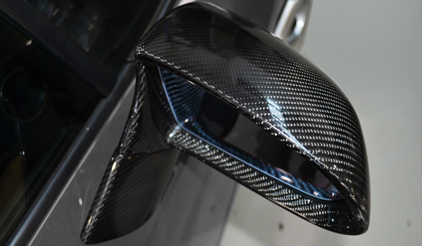 DMC Aventador Carbon Fiber Side Mirrors
