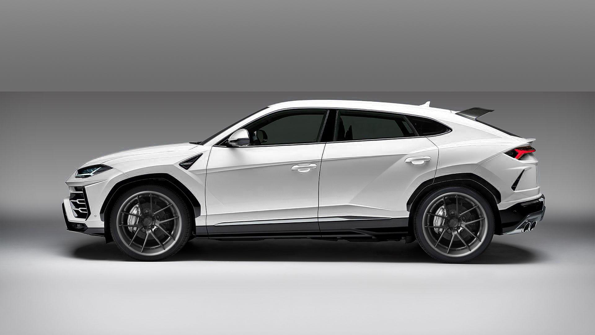 Dmc Wide Body Carbon Fiber Body Kit For The Lamborghini Urus