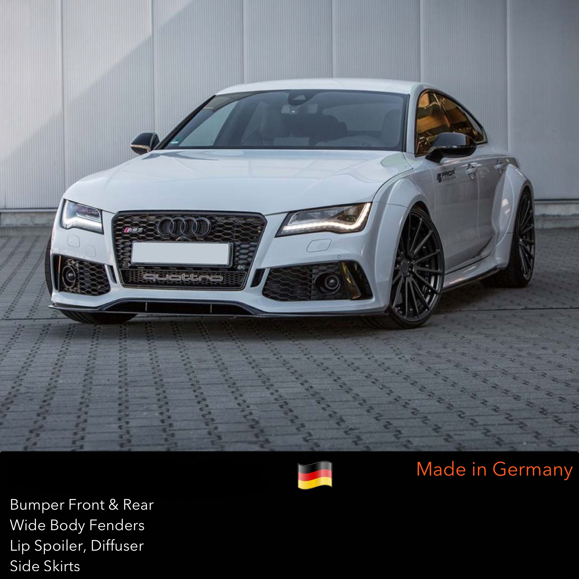 audi design wide body for kits kit by widebody products parts